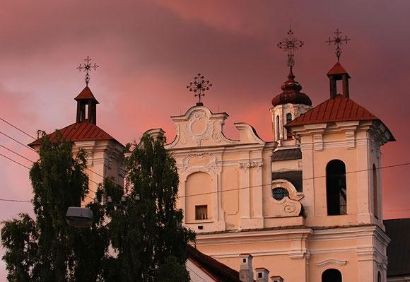 Vakaras Vilniuje