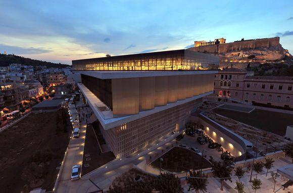 Atidarytas naujas Akropolio muziejus