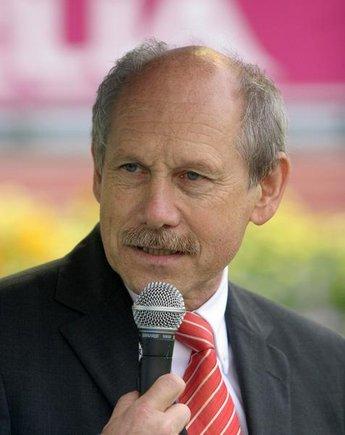 Insidethegames.com nuotr /European Athletics Prezidentas Hansjorgas Wirzas
