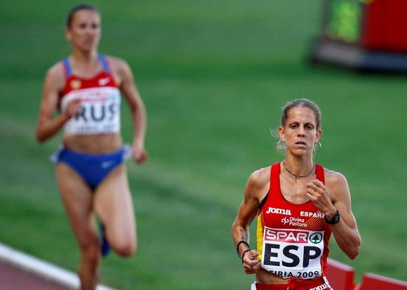 Natalia Rodriguez bėgimą laimėjo, tačiau buvo diskvalifikuota.