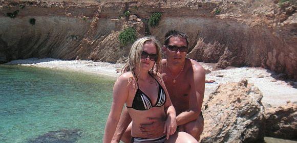 Bikini porelė Anžela ir Jaroslavas