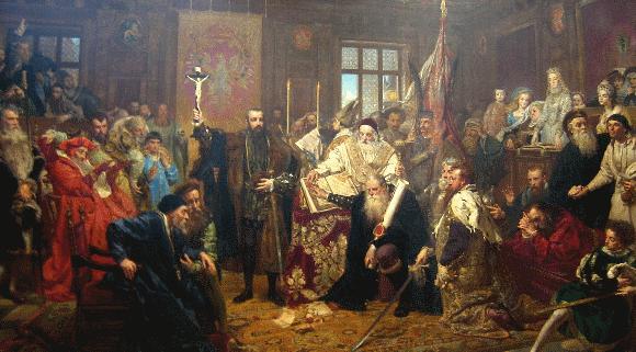 Lublino Unija (J.Mateikos paveikslas)