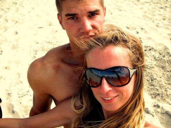 Bikini porelė Gintarė ir Tomas