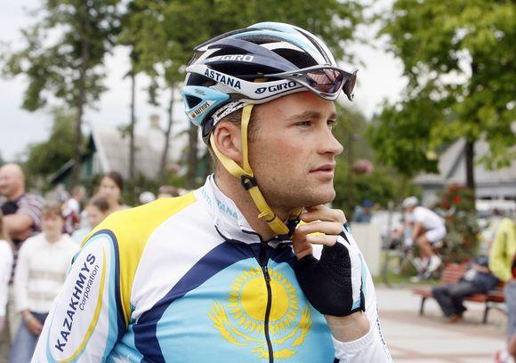 """T.Vaitkaus viltys antrąkart startuoti """"Tour de France"""" lenktynėse sužlugdė traumos"""