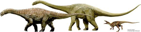 3 naujos dinozaurų rūšys