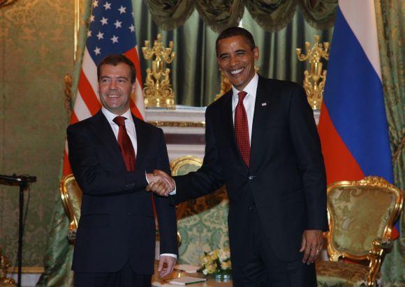 JAV prezidento B.Obamos vizitas Maskvoje