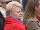 """Juliaus Kalinsko/""""15 minučių"""" nuotr./Išrinktoji prezidentė Dalia Grybauskaitė."""