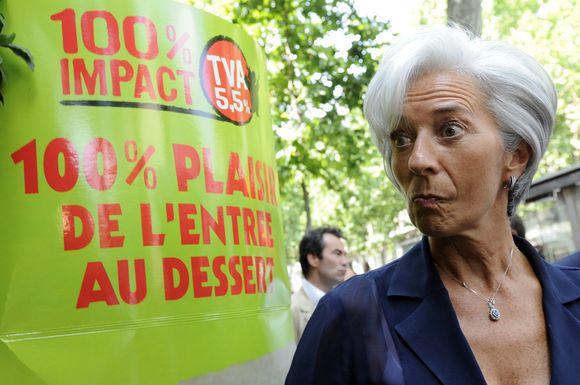 2006 metais, kai buvo prekybos ministrė, C.Lagarde pavyko 10 proc. padidinti Prancūzijos eksportą.