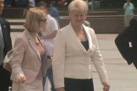 D.Grybauskaitė ruošiasi inauguracijai