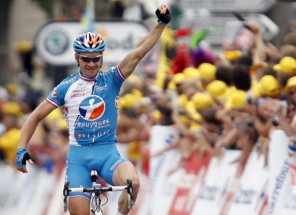 Penktąjį etapą laimėjo prancūzas Thomas Voeckleris