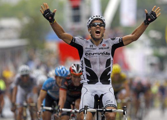 Šeštąjį etapą ketvirtadienį laimėjo norvegas Thoras Hushovdas