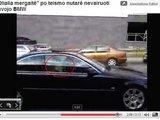 Sauliaus Chadasevičiaus/15min.lt nuotr./Blondinė Olialia mergaitė netikėtai tapo savojo BMW keleive.