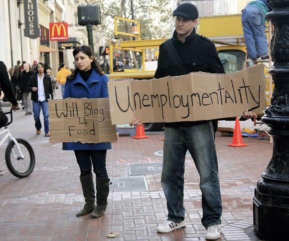 Bedarbiai Jungtinėse Valstijose