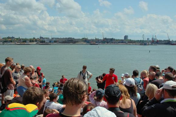 Ekskursijoje dalyvavo apie 600 žmonių.