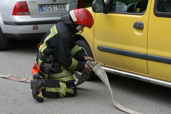 Antradienį Klaipėdoje kilo du gaisrai.