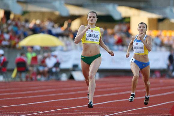 Likusi penkta, A.Orlauskaitė per daug neliūdėjo. Anot bėgikės, tai yra pakankamai geras rezultatas.