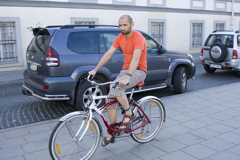 Foto naujienai: Vietoje automobilių – dviračiai
