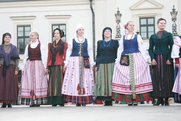 Klaipėdos krašto tautinis kostiumas.