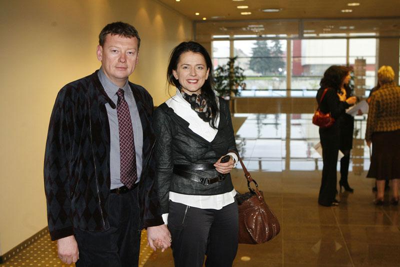 Foto naujienai: Gabrielė ir Vidmantas Janulevičiai: pirmagimė