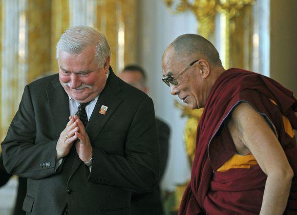 Dalai Lama ir Lechas Walesa