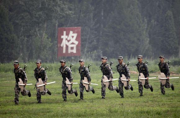 Kinijų armijos kariai