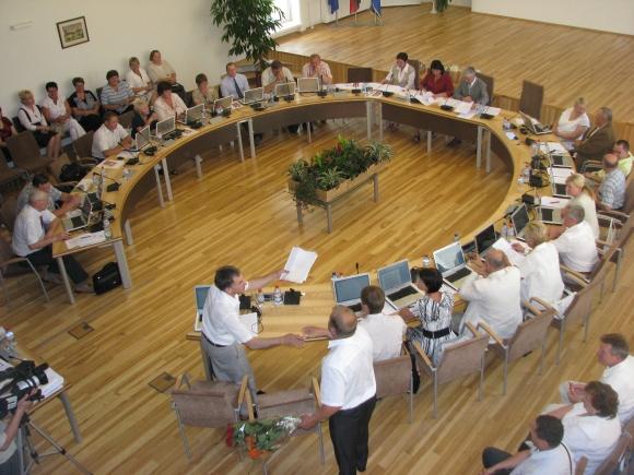 Trakų savivaldybės tarybos posėdis.