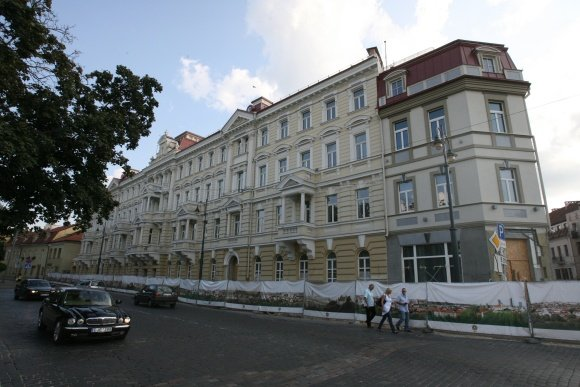 Vieabučio nuotr./Kempinski will be houed in former Vilnius telegraph building