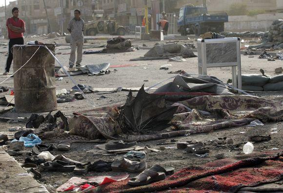 Turguje nugriaudėjo sprogimas.