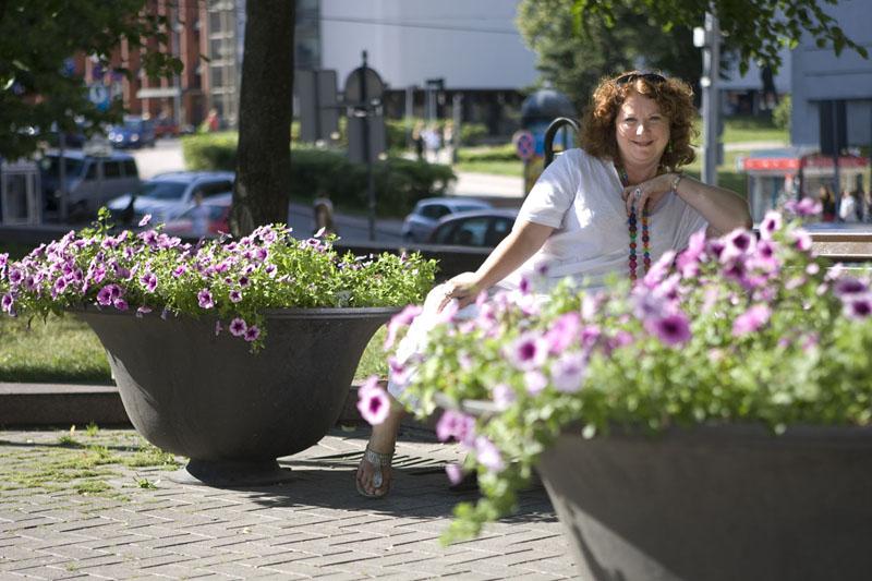 """Foto naujienai: Larisa Kalpokaitė-Braškienė: """"Kai turiu darbo, jaučiu, kad gyvenu"""""""