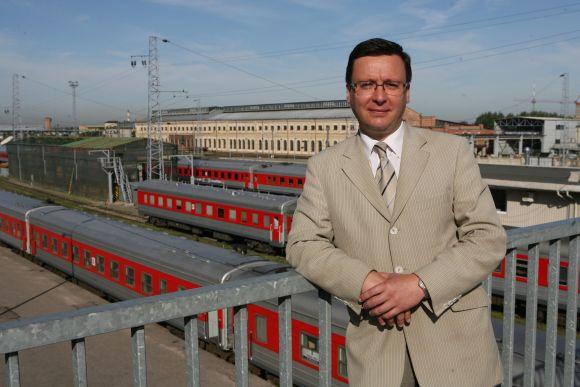 """""""Lietuvos geležinkelių"""" atstovo D.Žebrausko teigimu, keleivių gretas retina ir didėjantis nedarbas."""