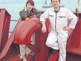 """Asmeninio albumo/""""Lietuvos žinių"""" nuotr./Jelena Krochina sako, kad išlydėdama vyrą į jūrą nerimo neprisileidžia, kad neprišauktų nelaimės."""