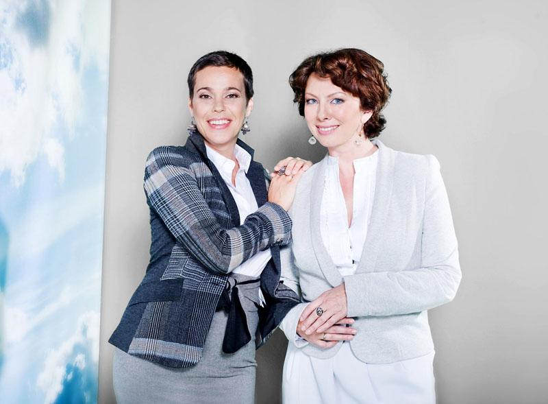 Foto naujienai: Nenudailintas pokalbių šou su Nomeda ir Daiva