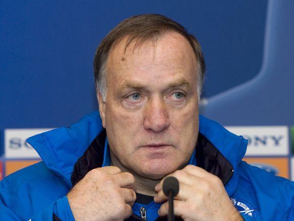 "D.Advocaatas pernai padėjo ""Zenit"" komandai laimėti UEFA taurę"