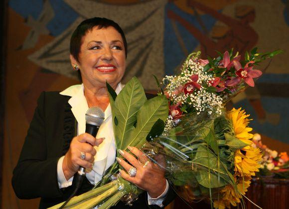 Birutė Dambrauskaitė savo biografinės knygos pristatyme