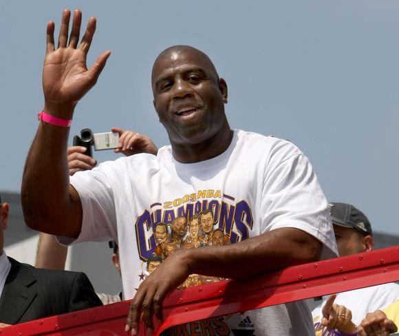 Magicas Johnsonas – vienas geriausių visų laikų krepšininkų