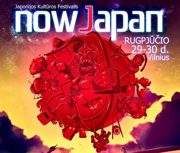 Japonijos kultūros festivalis NowJapan