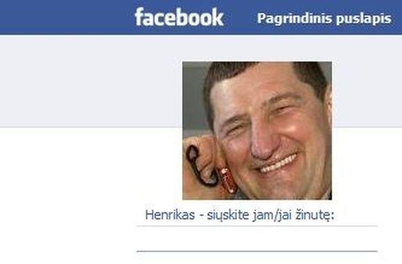 """Henrikas Daktaras – """"Facebook"""""""