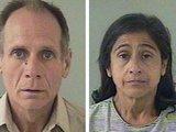 AFP/Scanpix nuotr./Ph.Garrido, kuris yra teistas už žaginimą, ir jo žmona Nancy buvo nuvežti į areatinę.