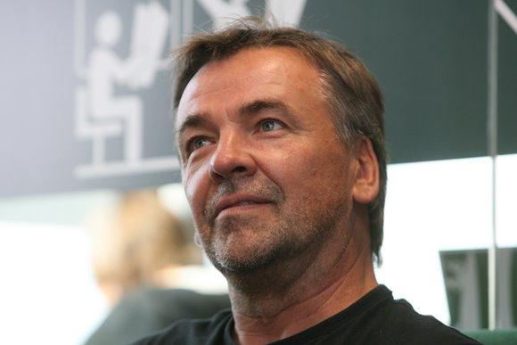 Lietuvos vyrų teniso rinktinės kapitonas R.Balžekas