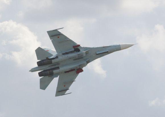 Baltarusijos naikintuvas Su-27
