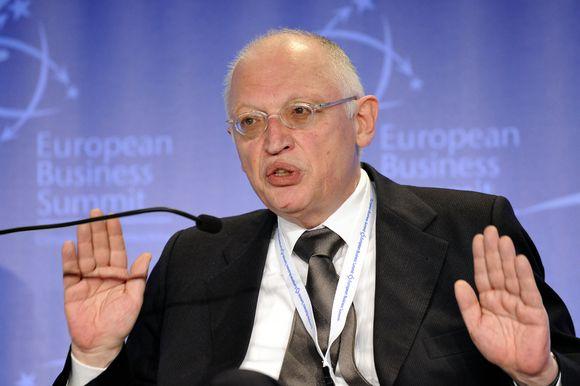 EK vicepirmininkas Gunteris Verheugenas
