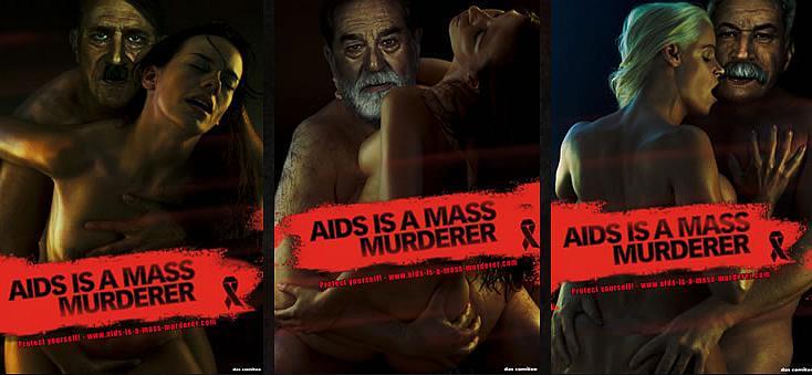 Apie AIDS grėsmę perspėja trys diktatoriai.