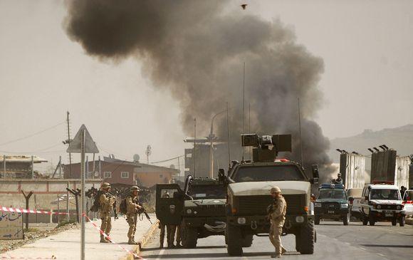 Kabulo oro uoste mirtininko išpuolis