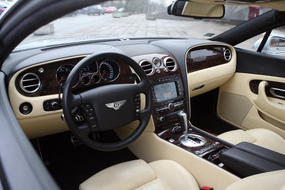 """""""Bentley Continental GT"""" interjeras"""