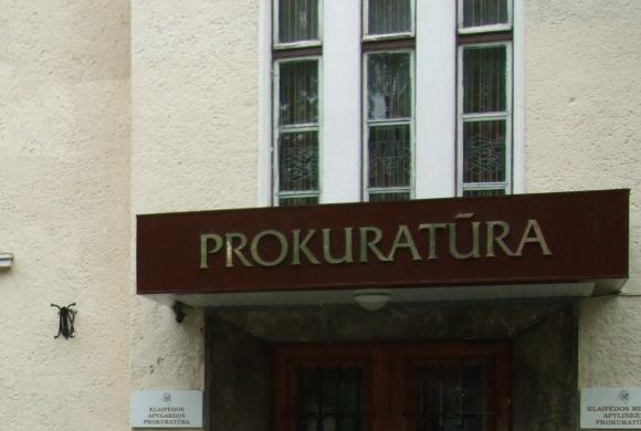 Klaipėdos prokuratūra.
