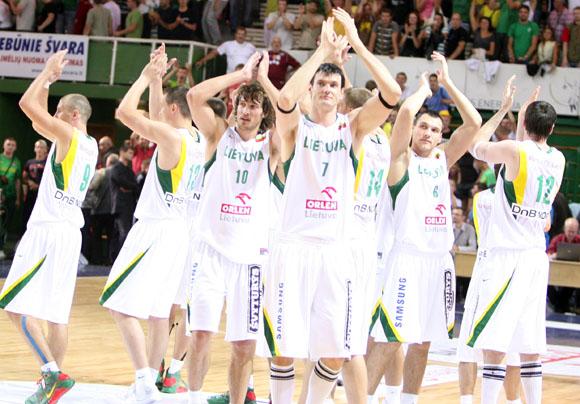 Lietuvos krepšininkai teigia, kad bus pasirengę dvikovai su slovėnais 100 proc.