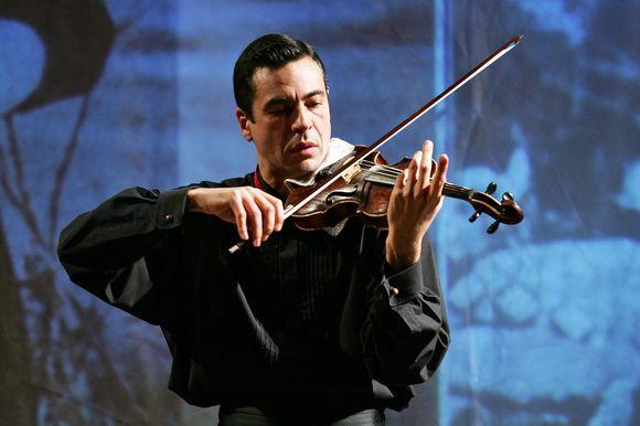 Smuikininkas Martynas Švėgžda