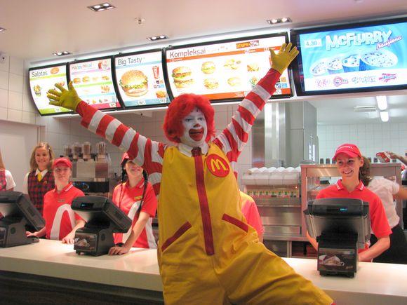 Linskmasis Ronaldas McDonaldas