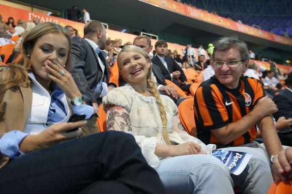 Naujasis J.Tymošenko įvaizdis – be kasos ant pakaušio.