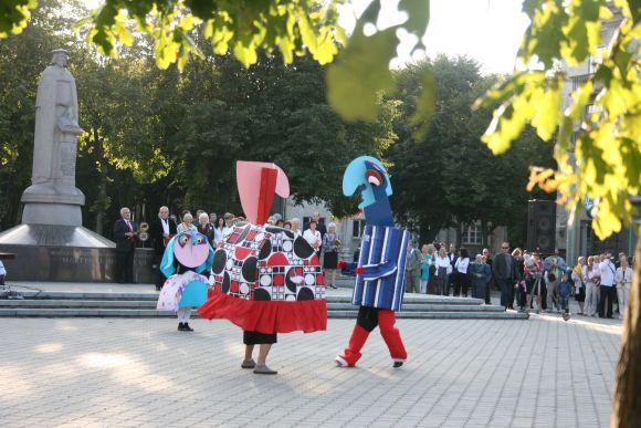 Sezoną pradeda Klaipėdos lėlių teatras.